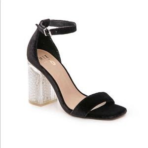 Mix No. 6 Shoes - Mix No. 6 Cregan Velvet Lucite Pearl Heel 8.5 9009e3498b0